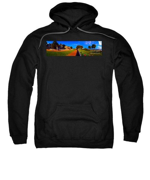 Mackinac Island Flower Garden  Sweatshirt