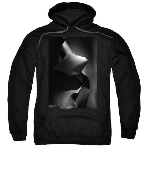 Madrona Bark Black And White Sweatshirt