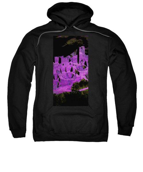 Magenta Dwelling Sweatshirt