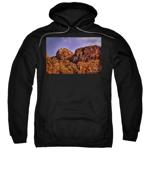 Sweatshirt featuring the photograph Majestic 15 by Mark Myhaver