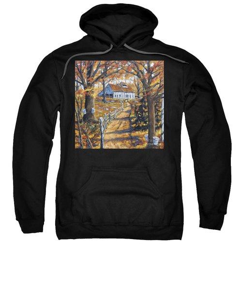 Maple Sugar Bush  Road By Prankearts Sweatshirt