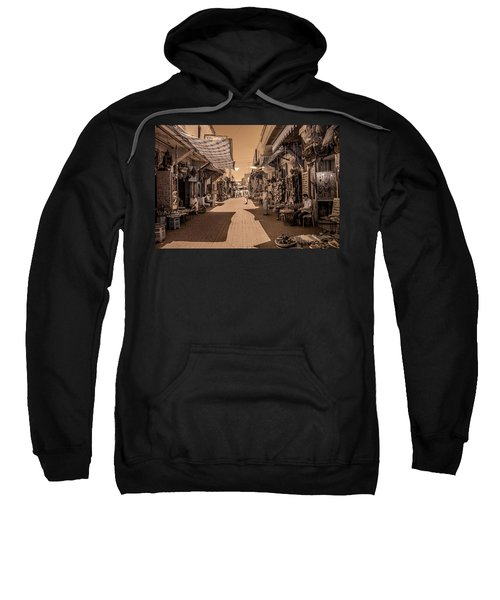 Marrackech Souk At Noon Sweatshirt