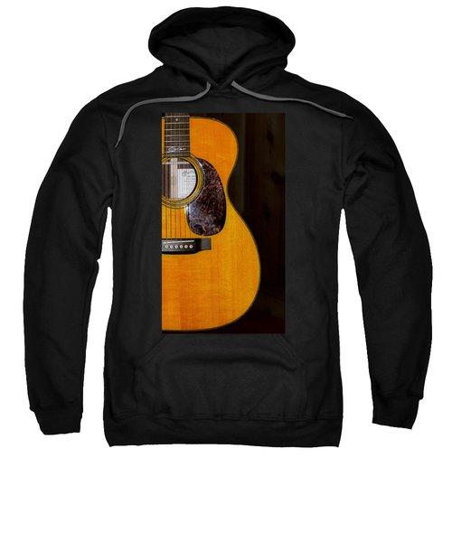 Martin Guitar  Sweatshirt by Bill Cannon