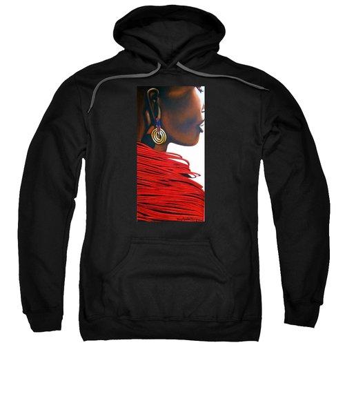 Masai Bride - Original Artwork Sweatshirt