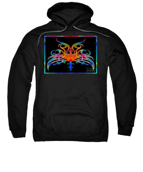 Masking Reality Abstract Shapes Artwork Sweatshirt