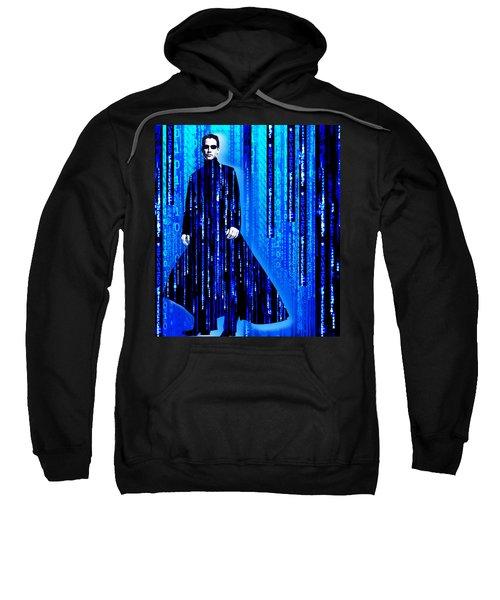 Matrix Neo Keanu Reeves 2 Sweatshirt