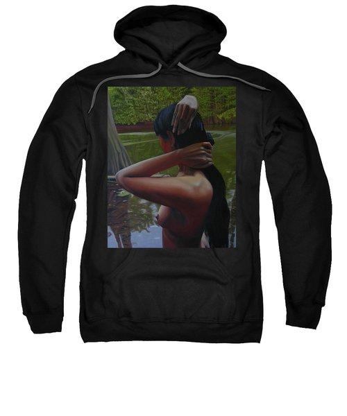 May Morning Arkansas River 6 Sweatshirt