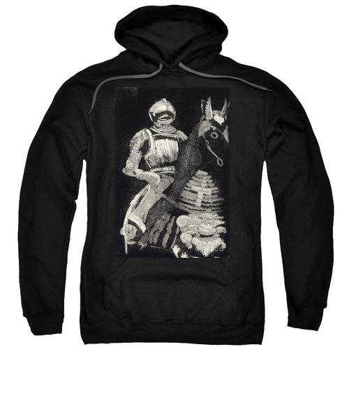 Medieval Knight On Horseback - Chevalier - Caballero - Cavaleiro - Fidalgo - Riddare -ridder -ritter Sweatshirt