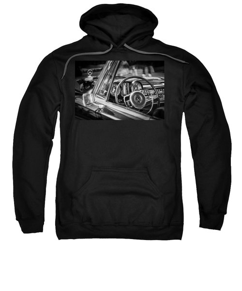 Mercedes-benz 250 Se Steering Wheel Emblem Sweatshirt