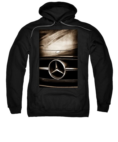 Mercedes-benz Grille Emblem Sweatshirt