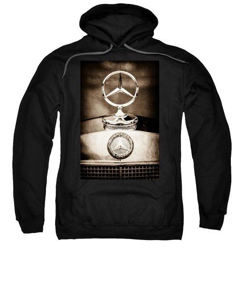 Mercedes-benz Hood Ornament - Emblem Sweatshirt