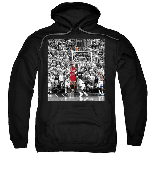 Michael Jordan Buzzer Beater Sweatshirt by Brian Reaves