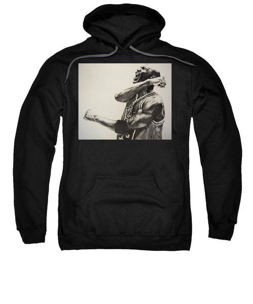 Michael Jordan Sweatshirt by Jake Stapleton