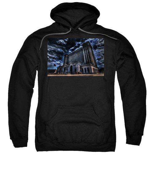 Michigan Central Station Hdr Sweatshirt