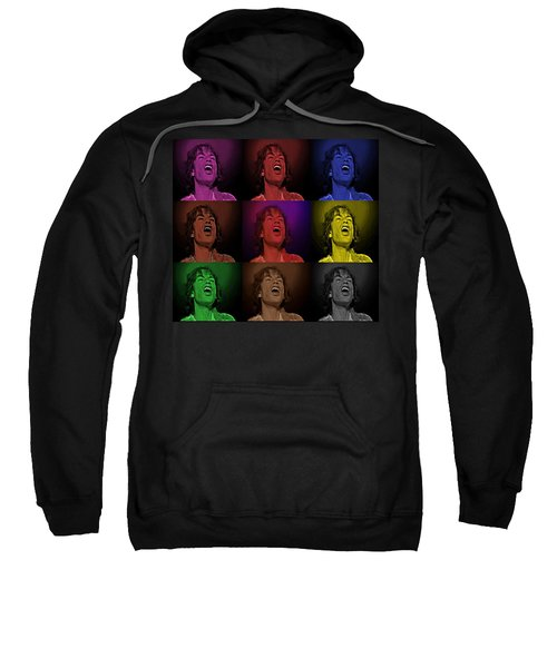 Mick Jagger Pop Art Print Sweatshirt