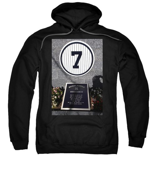 Mickey Mantle Sweatshirt by Allen Beatty