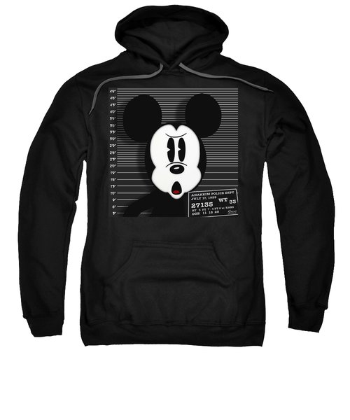 Mickey Mouse Disney Mug Shot Sweatshirt