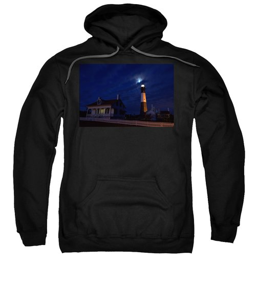 Midnight Moon Over Tybee Island Sweatshirt
