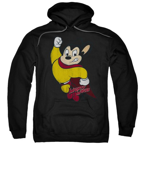 Mighty Mouse - Classic Hero Sweatshirt