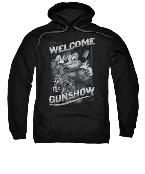 Mighty Mouse - Mighty Gunshow Sweatshirt
