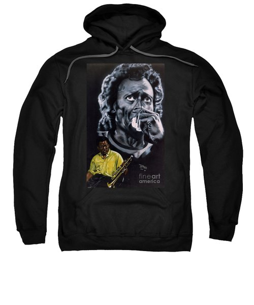 Miles Davis Jazz King Sweatshirt