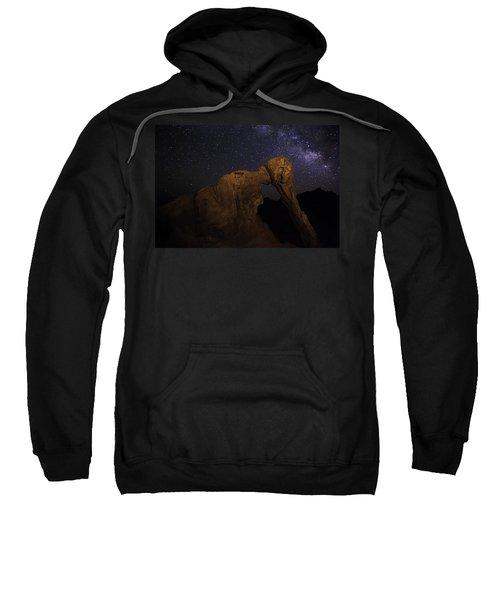 Milky Way Over The Elephant 2 Sweatshirt