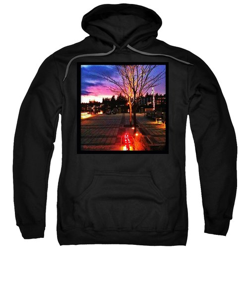 Millennium Park Plaza At Sunset Sweatshirt