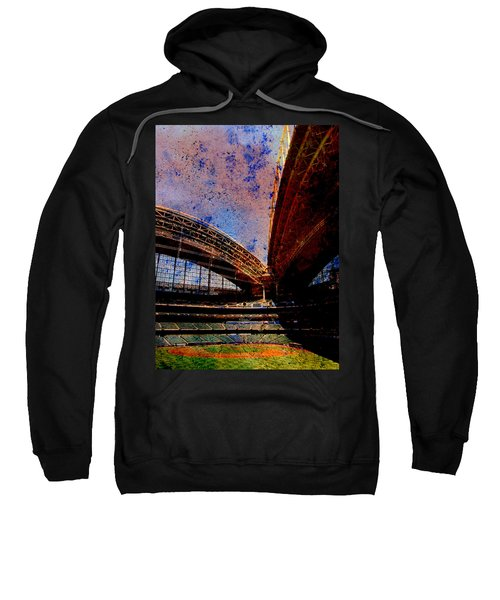 Miller Park 2 W Paint Sweatshirt