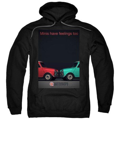 Minis Have Feelings Too Sweatshirt