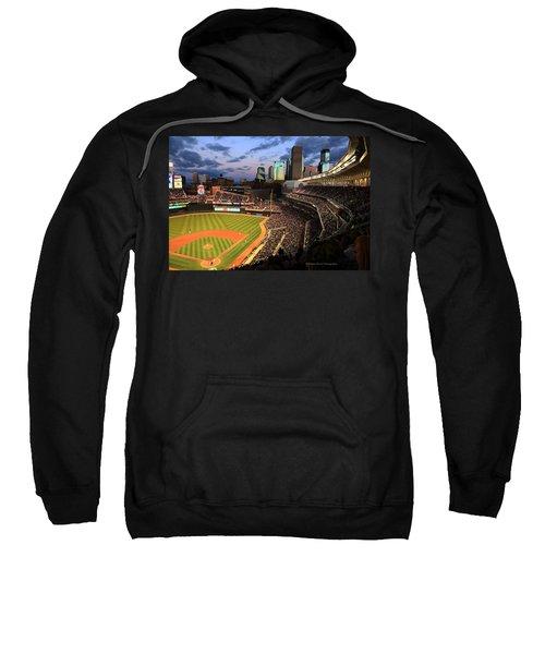 Minnesota Twins Minneapolis Skyline Target Field Sweatshirt