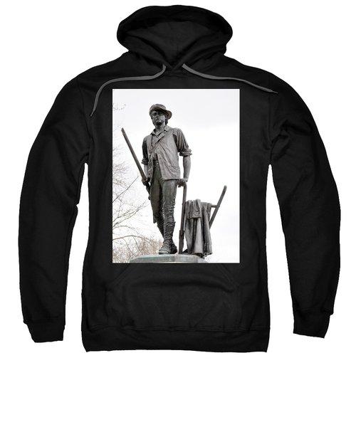 Minute Man Statue Sweatshirt