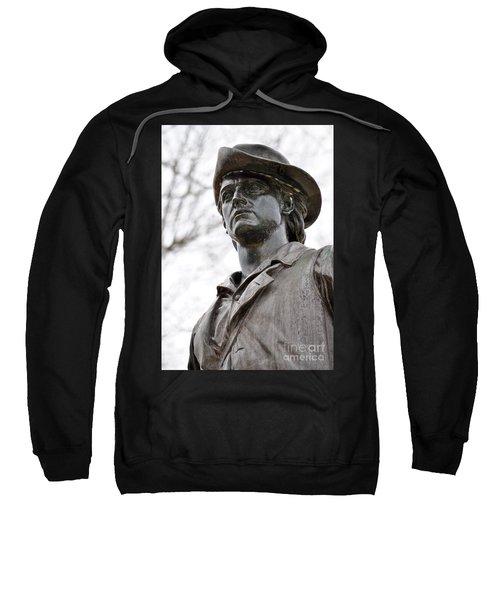 Minute Man Statue 3 Sweatshirt