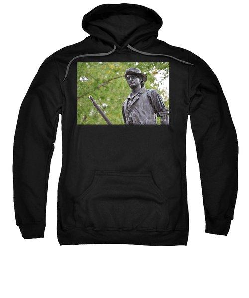 Minute Man Statue In Spring Sweatshirt