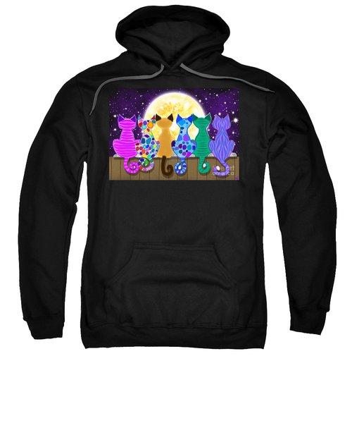 Moon Shadow Meow Sweatshirt