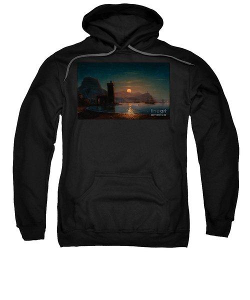 Moonlight Reflecting On Water Sweatshirt