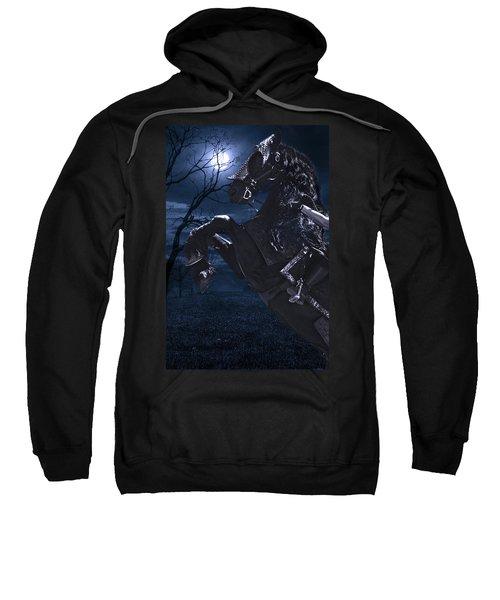 Moonlit Warrior Sweatshirt