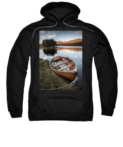 Moored On Loch Awe Sweatshirt