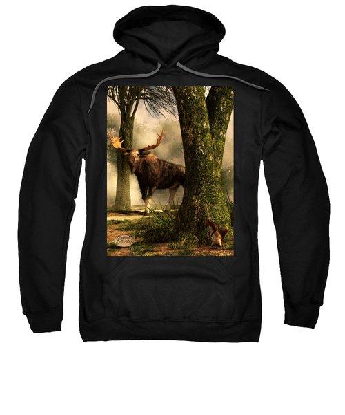 Moose And Squirrel Sweatshirt