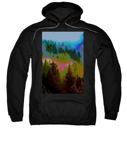 Morning Arrives In The Pacific Northwest Sweatshirt