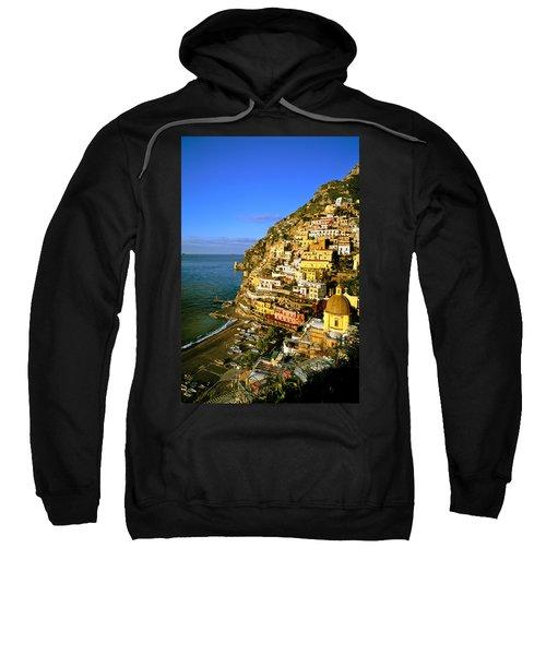Morning Light Positano Italy Sweatshirt