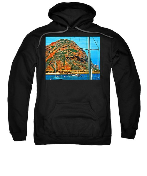 Moro Bay Sailing Boats Sweatshirt