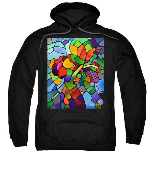 Mosaic Bouquet Sweatshirt