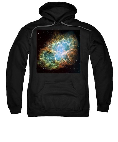 Most Detailed Image Of The Crab Nebula Sweatshirt