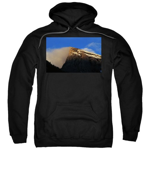Mount Rundle, Banff National Park Sweatshirt
