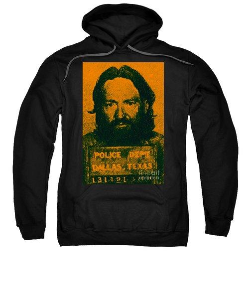 Mugshot Willie Nelson P0 Sweatshirt