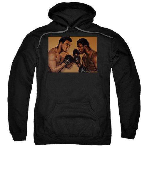 Muhammad Ali And Joe Frazier Sweatshirt