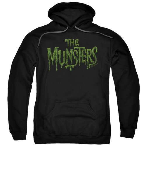 Munsters - Distress Logo Sweatshirt