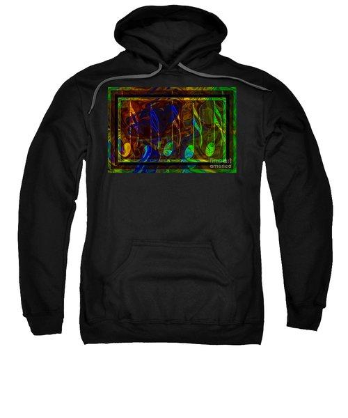 Music Is Magical Abstract Healing Art Sweatshirt