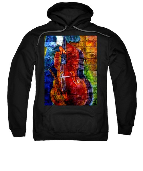 Musician Bass And Brick Sweatshirt