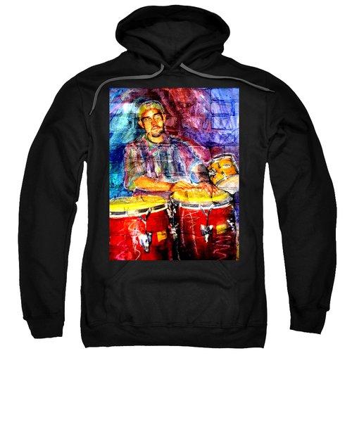 Musician Congas And Brick Sweatshirt